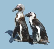 Penguins in Love by Pam Moore