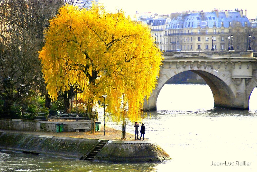 Paris - Le vert Galant. by Jean-Luc Rollier