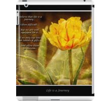 Life Is A Journey iPad Case/Skin