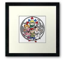 Earthbound w/ Background Framed Print