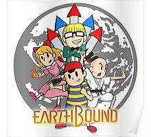 Earthbound w/ Logo Poster