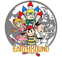 Earthbound w/ Logo Photographic Print
