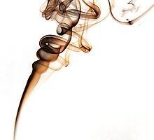 Untitled - Smoke Art by Steve Hildebrandt