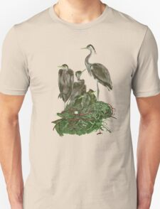 A Family of Herons. T-Shirt