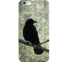 Old Damask And Crow iPhone Case/Skin