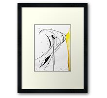 Ink Splats (Origins) Framed Print