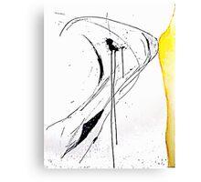 Ink Splats (Origins) Canvas Print