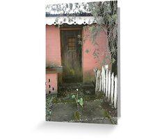 Quaint doorway Greeting Card