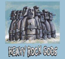 Heavy Rock Gods Kids Clothes