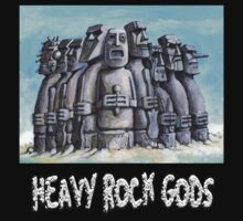Heavy Rock Gods by Alleycatsgarden