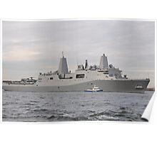 USS NEW YORK Poster