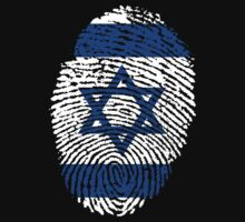Israelian flag - fingerprint by BrewMasterMD