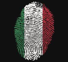 Italian flag - fingerprint by BrewMasterMD
