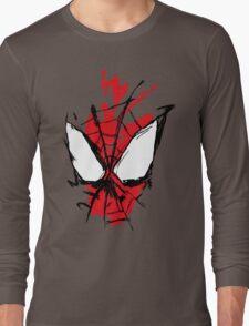 Spiderman Splatter Long Sleeve T-Shirt