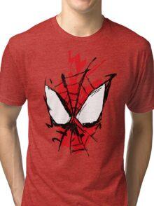 Spiderman Splatter Tri-blend T-Shirt