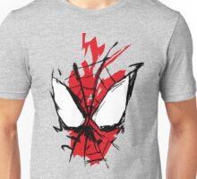 Spiderman Splatter Unisex T-Shirt