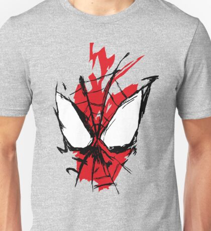 Spiderman Splatter Unisex T-Shirt