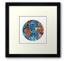 One Earth- One World Framed Print