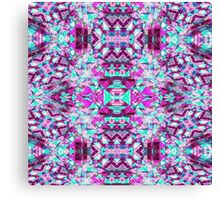 Super Abstract Kaleidoscope Pattern Canvas Print