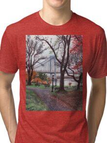 Whitestone Bridge Tri-blend T-Shirt