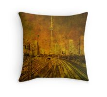 City of Chaos Throw Pillow
