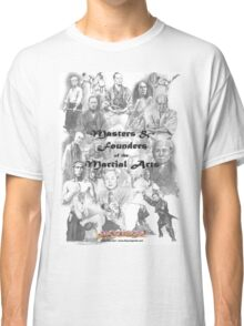 Masters and Founders of Martial Arts calendar Classic T-Shirt