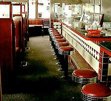 Diner Stools by gailrush