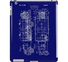 Motor Fire Apparatus 1925 - dark iPad Case/Skin
