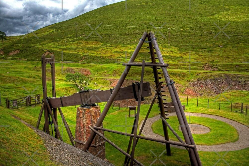 Wanlockhead Beam Engine by Tom Gomez