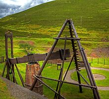 Wanlockhead Beam Engine by Tom Gomez