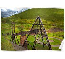 Wanlockhead Beam Engine Poster