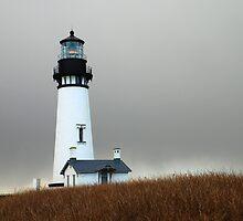 Yaquina Head Lighthouse, Newport,Or by Jennifer Hulbert-Hortman