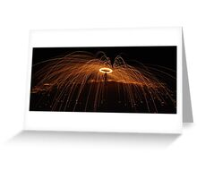 war of the world poi  Greeting Card