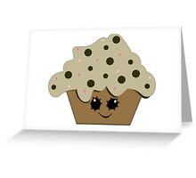Chocolate Chip Cupcake Cutie Greeting Card