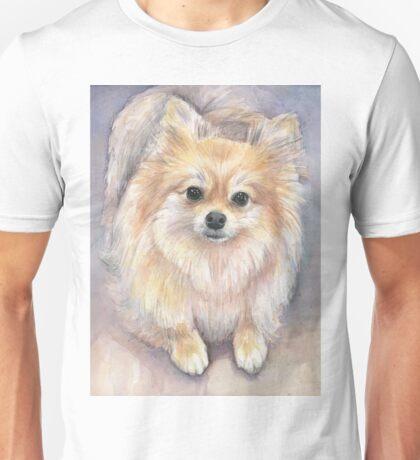 Pomeranian Watercolor Unisex T-Shirt