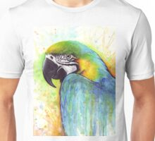 Macaw Watercolor Unisex T-Shirt