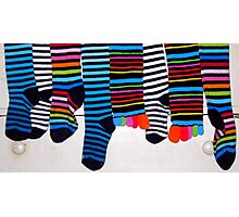 My 60 Sox, Now Ready for our Christmas! Photographic Print