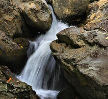 Through The Rocks by Deborah  Benoit