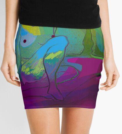 Sun Moon Star Mini Skirt