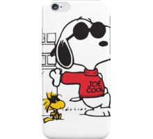 Joe Cool iPhone Case/Skin