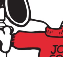 Joe Cool Sticker