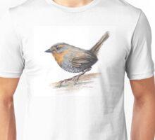 Chucao Bird Watercolor Unisex T-Shirt