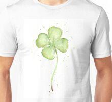Lucky Charm Four Leaf Clover Unisex T-Shirt