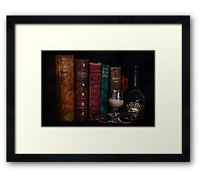 A good night in ... Framed Print