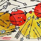 many arrows tattoo flash by resonanteye