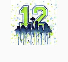 Seattle 12th Man Art for Seahwks T-Shirt