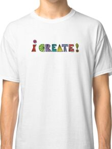 i create with lines  Classic T-Shirt