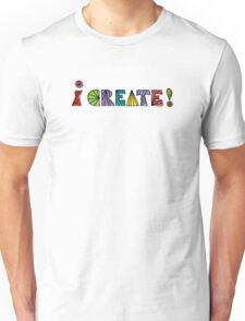 i create with lines  Unisex T-Shirt