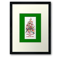 KOI Tree Chirstmas Card  Framed Print