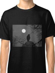 Moonlit Crow Classic T-Shirt
